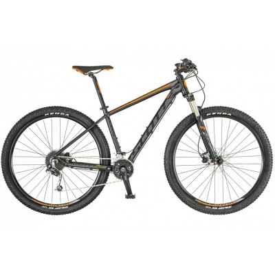 Велосипед Scott Aspect 930 black/orange (2019) 1
