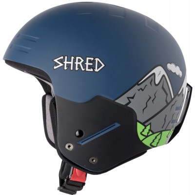 Шлем Shred NOSHOCK NEED MORE SNOW NAVY/NEON GREEN  1