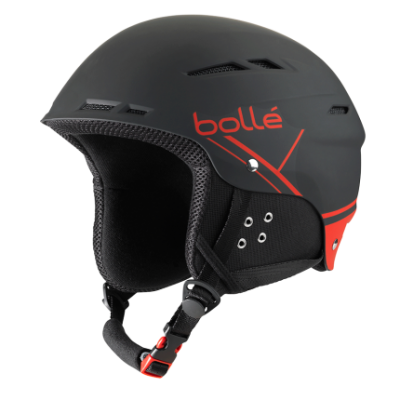 Шлем Bolle B-FUN SOFT BLACK & RED  1
