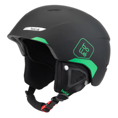 Шлем Bolle B-YOND Soft Black & Green 1