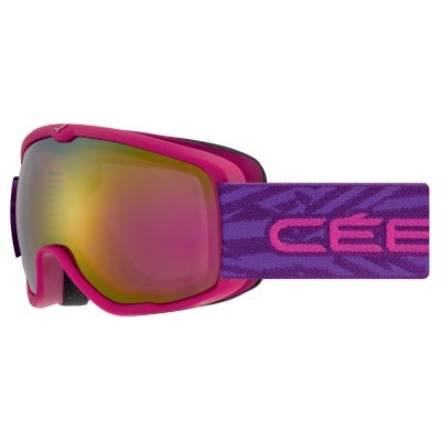 Маска CEBE ARCTIC Matt Pink Purple 1