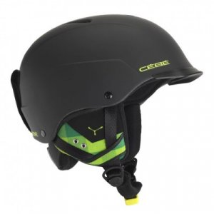 Шлем CONTEST VISOR Matt Black Green 1