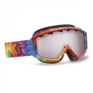 Jr Hook up tiedye multicolor (линза silver chrome) 1