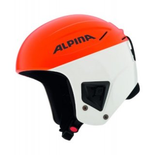 Шлем Alpina 2018-19 Downhill COMP orange-white