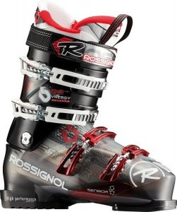 Горнолыжные ботинки ROSSIGNOL SYNERGY SENSOR 2 90 BLACK TRANSPARENT 1