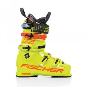БОТИНКИ ГОРНОЛЫЖНЫЕ FISCHER RC4 THE CURV 130 VACUUM FULL FIT YELLOW/YELLOW  1