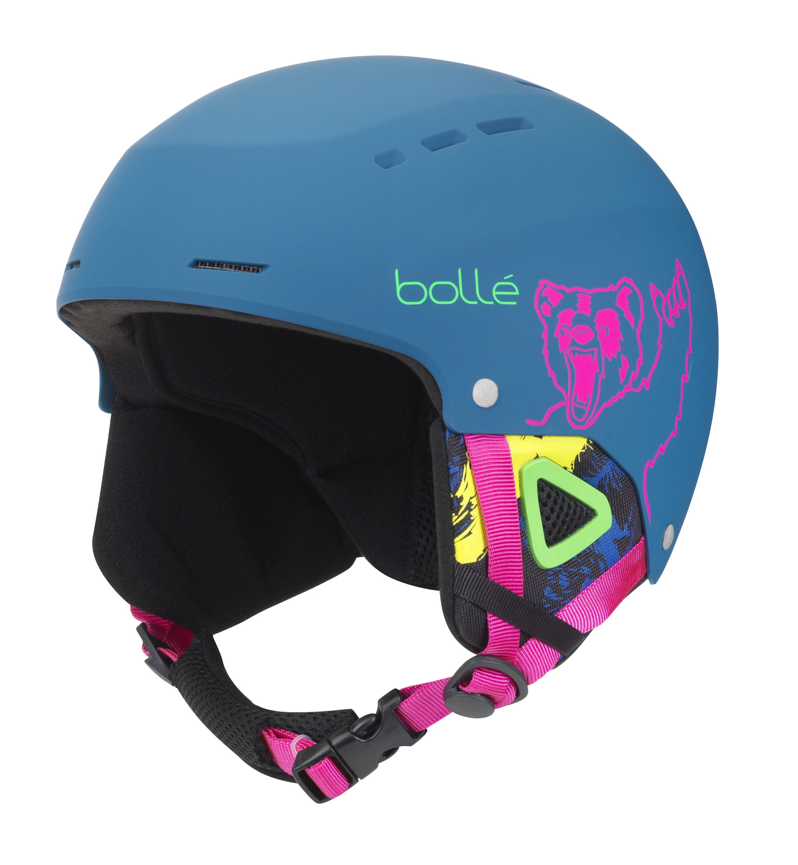 Шлем Bolle QUIZ MATTE NAVY BEAR 1