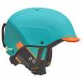 Шлем Cebe Contest Visor Ultimate Matt Fade Turquoise Orange