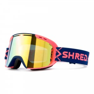 Маска Shred Amazify Bigshow navy/rust - CBL Hero Mirror 6