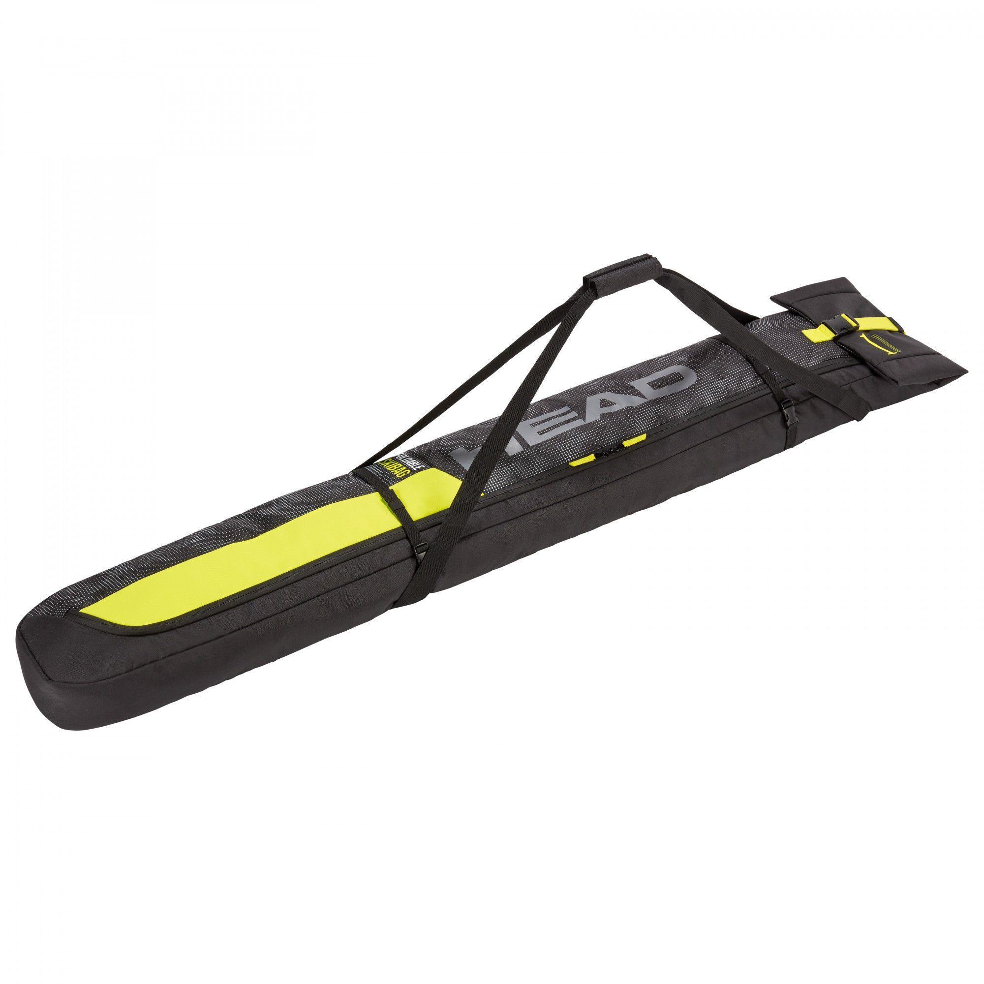 Чехол HEAD Double Ski Bag Anthracite/Black/Neon Yellow 2020 1