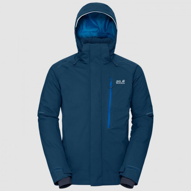 КУРТКА МУЖСКАЯ JACK WOLFSKIN EXOLIGHT ICY JACKET (2019) 1