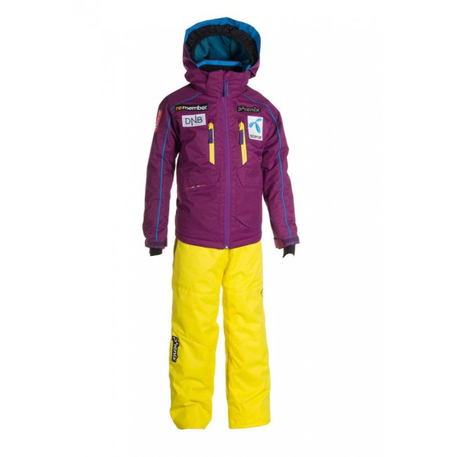 КОСТЮМ NORWAY ALPINE TEAM KIDS TWO-PIECE ДЕТСКИЙ 1