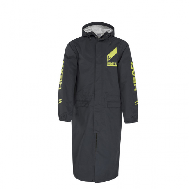 ПЛАЩ ЗАЩИТНЫЙ HEAD RACE FLASHPOINT TEAM RAIN COAT BLACK (2019) 1