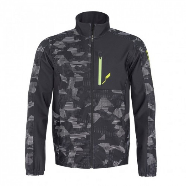 КУРТКА МУЖСКАЯ HEAD RACE LIGHTNING TEAM JACKET SOFTSHELL BLACK (2019) 1