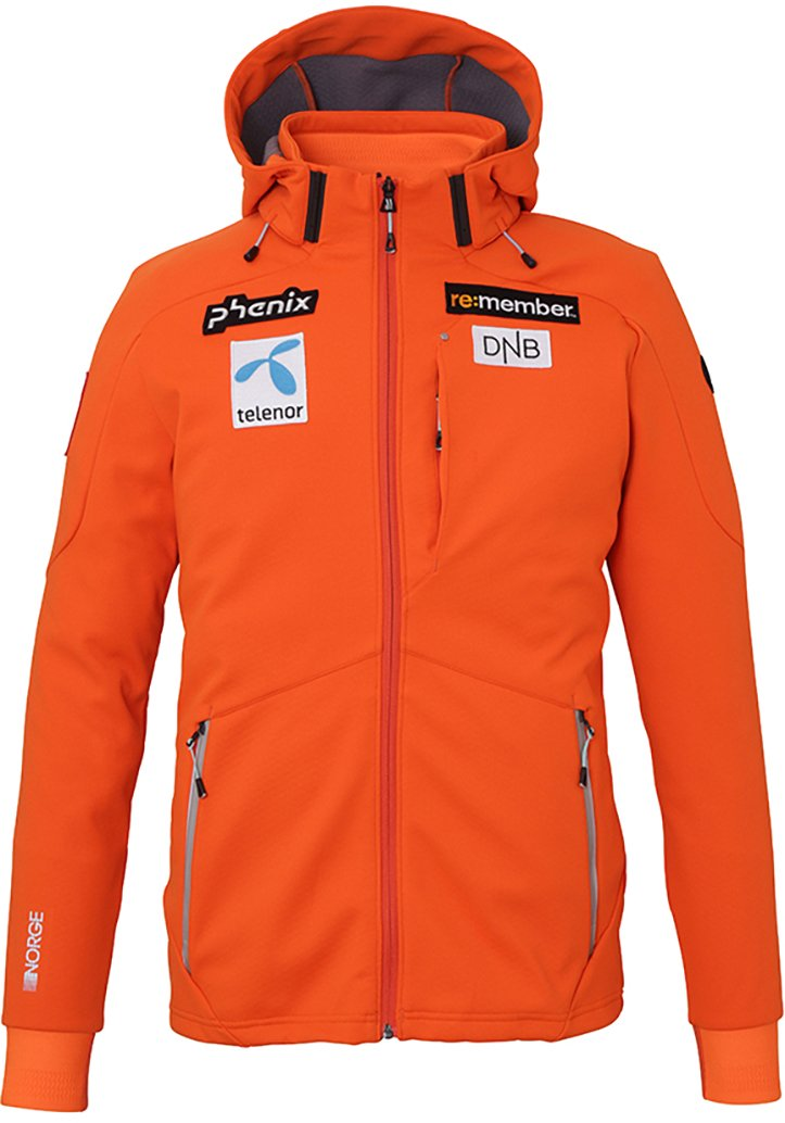 Куртка горнолыжная PHENIX Norway Alpine Team Soft Shell VOR1 1