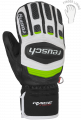 ВАРЕЖКИ ЮНИОРСКИЕ REUSCH GS JUNIOR MITTEN black / white / neon green