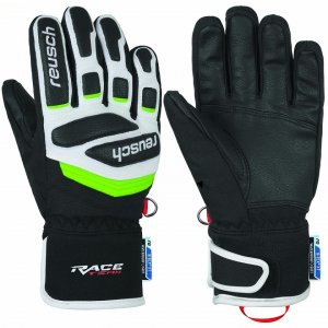 Перчатки горные REUSCH  Reusch Prime Race R-TEX XT black/white/neon green 1