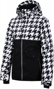 Куртка женская REHALL BELLAH-R (19/20) Houndstooth Black-White 2
