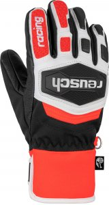 Перчатки горнолыжные REUSCH 2020-21 Worldcup Warrior R-Tex® XT Black/White/Fluo Red 2